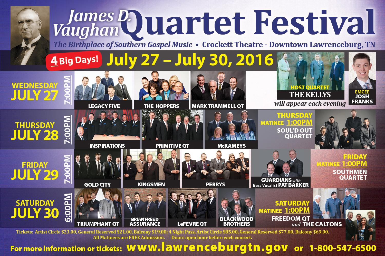 Vaughan Quartet Festival